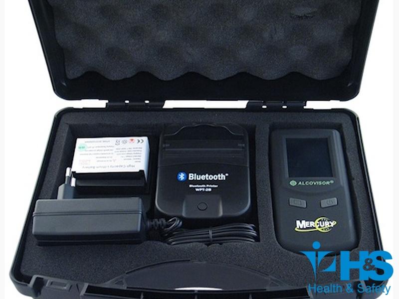 Mercury com impressora sem fio - Bluetooth Alcovisor