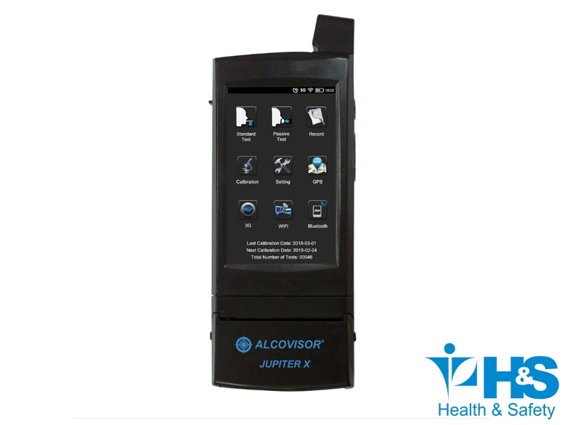 Jupiter X  - Bafômetro com Android Alcovisor